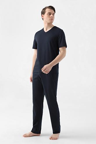 Ds Damat Regular Fit Lacivert Pijama Takımı - 8682445223347   D'S Damat