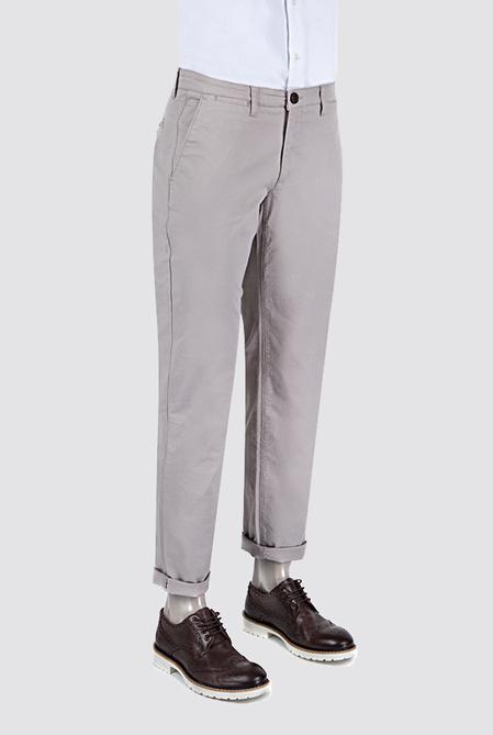 Ds Damat Slim Fit Taş Düz Chino Pantolon - 8681779341406 | D'S Damat