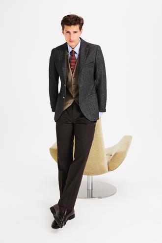 Ds Damat Slim Fit Antrasit Kombinli Takım Elbise - 8682445523010 | D'S Damat
