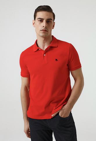 Ds Damat Regular Fit Mercan Pike Dokulu T-shirt - 8682060907646 | D'S Damat