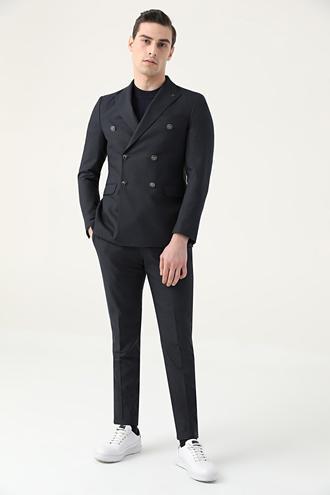 Tween Slim Fit Lacivert Takım Elbise - 8682364902040 | Damat Tween