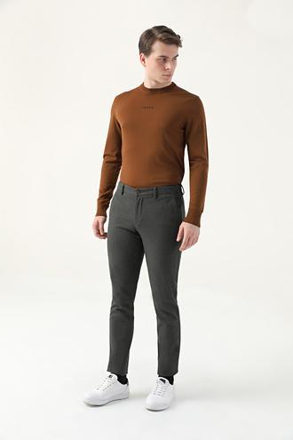 Tween Slim Fit Haki Chino Pantolon - 8682364746033   Damat Tween