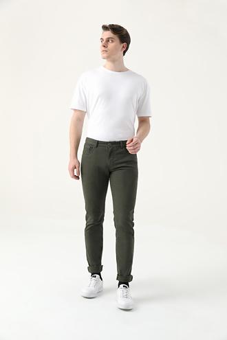 Tween Super Slim Fit Haki Chino Pantolon - 8682364745326   Damat Tween