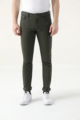 Tween Super Slim Fit Haki Chino Pantolon - 8682364923182   Damat Tween