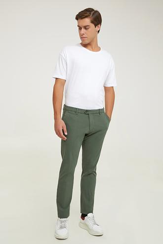 Damat Slim Fit Haki Chino Pantolon - 8682364961238   Damat Tween