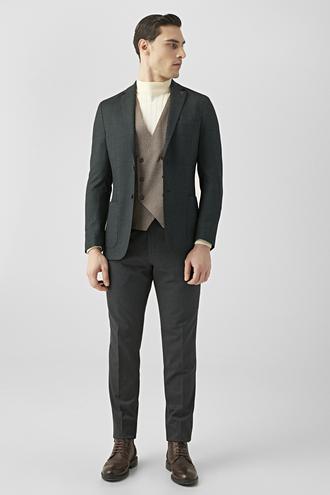 Tween Slim Fit Yeşil Kombinli Takım Elbise - 8682364830480 | Damat Tween