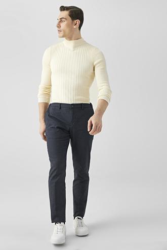 Tween Slim Fit Lacivert Chino Pantolon - 8682364827725   Damat Tween