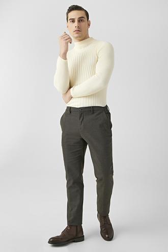 Tween Slim Fit Kahve Chino Pantolon - 8682364827770   Damat Tween