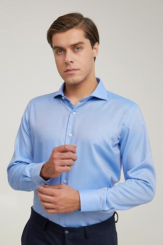 Damat Slim Fit Mavi Gömlek - 8682364895861 | Damat Tween