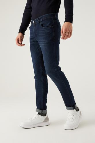 Twn Super Slim Fit Lacivert Denim Pantolon - 8682445528534 | D'S Damat