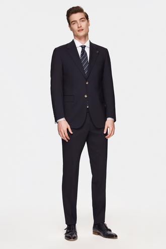 Damat Regular Fit Siyah Düz Travel Takım Elbise - 8682364841660 | Damat Tween