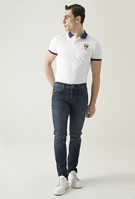 Tween Super Slim Fit Lacivert Denım Pantolon - 8681649681045   Damat Tween