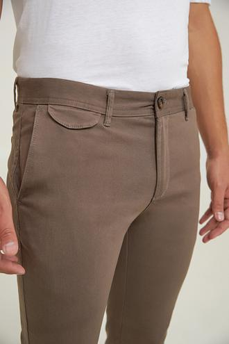 Twn Slim Fit Vizon Armürlü Chino Pantolon - 8682445206333 | D'S Damat