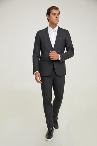Twn Slim Fit Antrasit Takım Elbise - 8682445512120 | D'S Damat