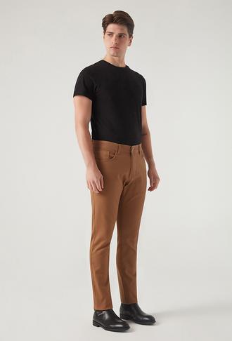Twn Slim Fit Tarçın Armürlü Chino Pantolon - 8682445501636 | D'S Damat
