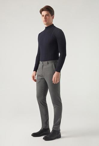 Tween Slim Fit Antrasit Kumaş Pantolon - 8682364976997   Damat Tween