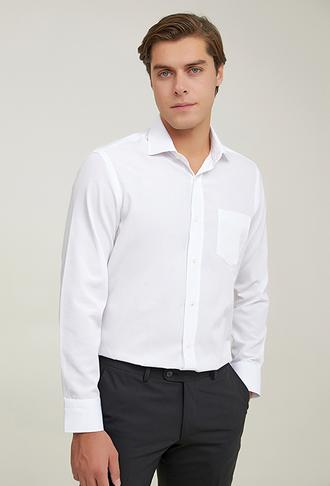 Ds Damat Regular Fit Beyaz Gömlek - 8682445409000   D'S Damat