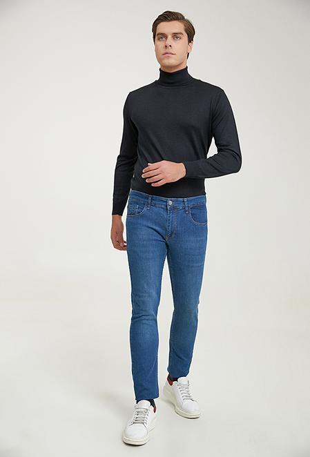 Twn Super Slim Fit Lacivert Denim Pantolon - 8682445528312 | D'S Damat