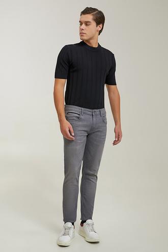 Tween Super Slim Fit Antrasit Denim Pantolon - 8682364640799   Damat Tween